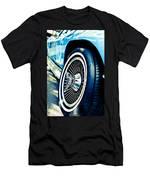 Pale Blue Rider Men's T-Shirt (Athletic Fit)