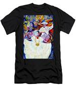 Panama Carnival. Fiesta Men's T-Shirt (Athletic Fit)