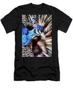 Pea Cock Cock Cock Men's T-Shirt (Athletic Fit)