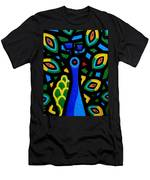 Peacock IIi Men's T-Shirt (Athletic Fit)