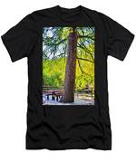 Picnic By The Cypress Men's T-Shirt (Athletic Fit)