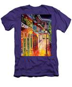 Pirates Alley By Night Men's T-Shirt (Athletic Fit)