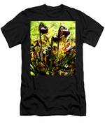 Pitcher Plant Abstraction Men's T-Shirt (Athletic Fit)