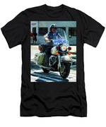 Police - Motorcycle Cop Men's T-Shirt (Athletic Fit)