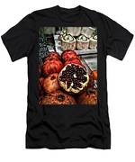 Pomegranates In Open Market Art II Men's T-Shirt (Athletic Fit)