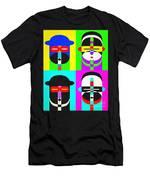Pop Art People 4 2 Men's T-Shirt (Athletic Fit)