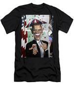 President Barock Obama Change Men's T-Shirt (Athletic Fit)