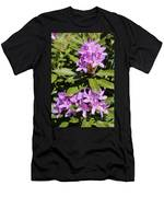 Pretty Purple Rhododendron Men's T-Shirt (Athletic Fit)