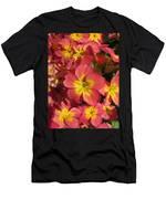 Primrose Flowers Men's T-Shirt (Athletic Fit)