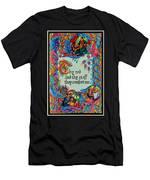 Psalms 23-4b Men's T-Shirt (Athletic Fit)