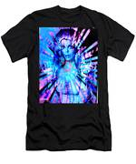 Psychedelic Barbie Men's T-Shirt (Athletic Fit)