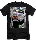 Psychedelic Gondola Venice Men's T-Shirt (Athletic Fit)