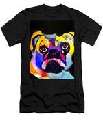 Pug Power Pup I Men's T-Shirt (Athletic Fit)