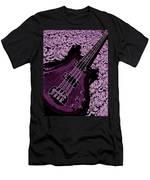 Purple Bass Men's T-Shirt (Athletic Fit)
