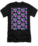 Pyramid Dome Triangle Purple Elegant Digital Graphic Signature   Art  Navinjoshi  Artist Created Ima Men's T-Shirt (Athletic Fit)