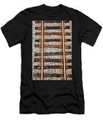 Railroad Track With Gravel 2 Men's T-Shirt (Athletic Fit)