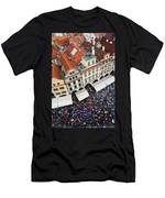 Rainy Day In Prague-2 Men's T-Shirt (Athletic Fit)