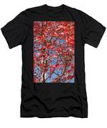 Red Maple Leaves  Men's T-Shirt (Athletic Fit)