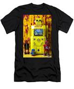 Rescue Robot Men's T-Shirt (Athletic Fit)