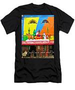 Restaurant In Gateway To The Amazon River In Iquitos-peru Men's T-Shirt (Athletic Fit)