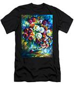 Roses And  Men's T-Shirt (Athletic Fit)