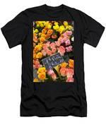 Roses At Flower Market Men's T-Shirt (Athletic Fit)