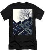 Row Houses In Washington Heights Men's T-Shirt (Athletic Fit)