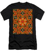 Rudi 2 Kaleidoscope Men's T-Shirt (Athletic Fit)