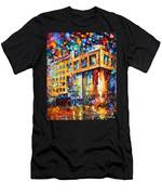 Rusbank Moscow Men's T-Shirt (Athletic Fit)