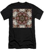 Rusty Chain Link Kaleido Men's T-Shirt (Athletic Fit)