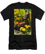 Rusty Old Water Pump Men's T-Shirt (Athletic Fit)