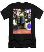 Santorini Doorway 2 Men's T-Shirt (Athletic Fit)