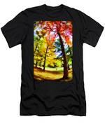 Saratoga Tree Men's T-Shirt (Athletic Fit)