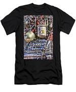 Saturn V J-2 Rocket Engine Men's T-Shirt (Athletic Fit)