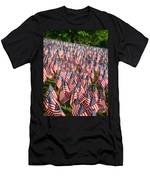 Sea Of Flags Men's T-Shirt (Athletic Fit)