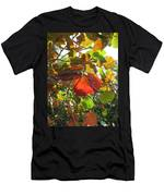 Seagrape Leaves Men's T-Shirt (Athletic Fit)