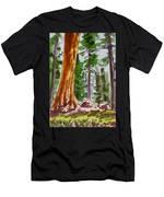 Sequoia Park - California Sketchbook Project  Men's T-Shirt (Athletic Fit)