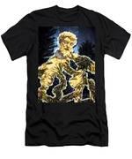 Serra In The Garden Men's T-Shirt (Athletic Fit)