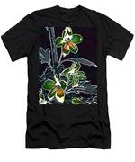 Shades Of Green And Gray Men's T-Shirt (Athletic Fit)
