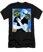 Shadow Man Palm Springs Men's T-Shirt (Athletic Fit)