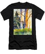Shadow Patterns II Men's T-Shirt (Athletic Fit)