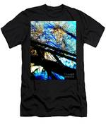 Shadowy Snowy Dune Men's T-Shirt (Athletic Fit)