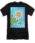 Single Summer Daisy Men's T-Shirt (Athletic Fit)
