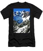 Southern Alps New Zealand Men's T-Shirt (Athletic Fit)