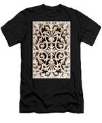 Southern Ironwork In Sepia Men's T-Shirt (Athletic Fit)