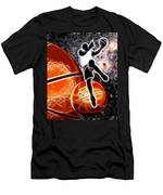 Space Slam  Men's T-Shirt (Athletic Fit)