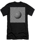 Sphere Abstract Pinch Men's T-Shirt (Athletic Fit)