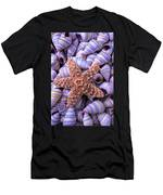 Spiral Shells And Starfish Men's T-Shirt (Athletic Fit)