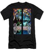 Stained Galss Window In St Vitus Men's T-Shirt (Athletic Fit)