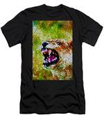 Stained Glass Leopard 3 Men's T-Shirt (Athletic Fit)